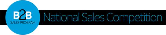 b2b national sales competition