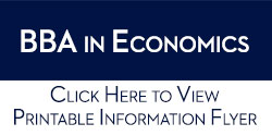 BBA in Economics Information Flyer PDF