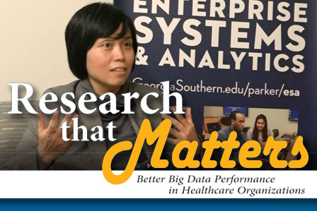 Research That Matters: Better Big Data Performance in Healthcare Organizations