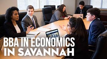 BBA in Economics in Savannah