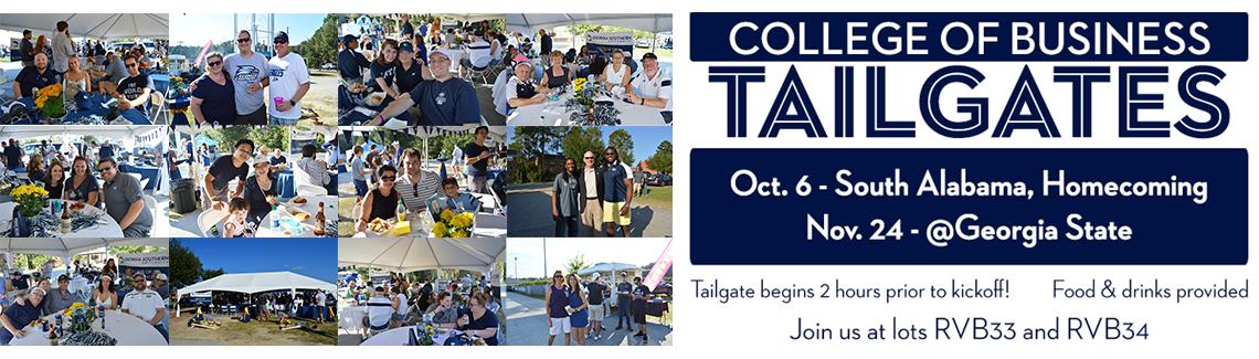 College of Business Tailgate - Nov. 24 - @Georgia State